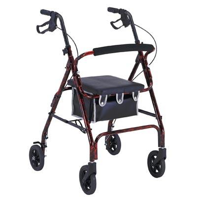 buit mobility transport chairs and rollators