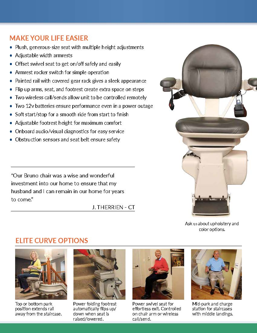 Fabulous Bruno Custom Madison Stairlifts Service And Repair Cjindustries Chair Design For Home Cjindustriesco
